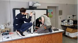 Küche als Klassenzimmer